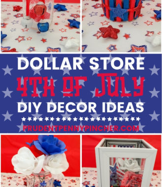 Dollar Store 4th of July Decor DIY Ideas