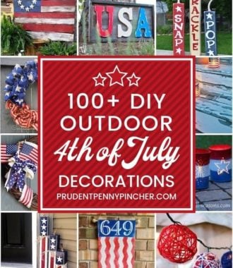100 DIY Outdoor 4th of July Decorations