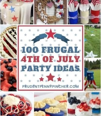 100 Frugal 4th of July Party Ideas