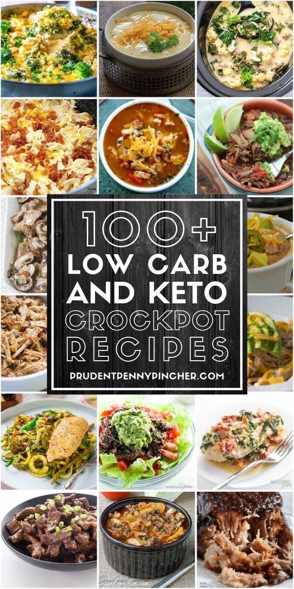 100 Low Carb and Keto Crockpot Recipes