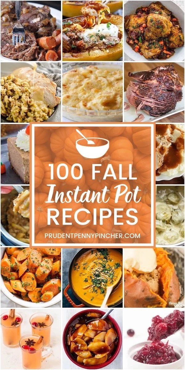 100 Fall Instant Pot Recipes