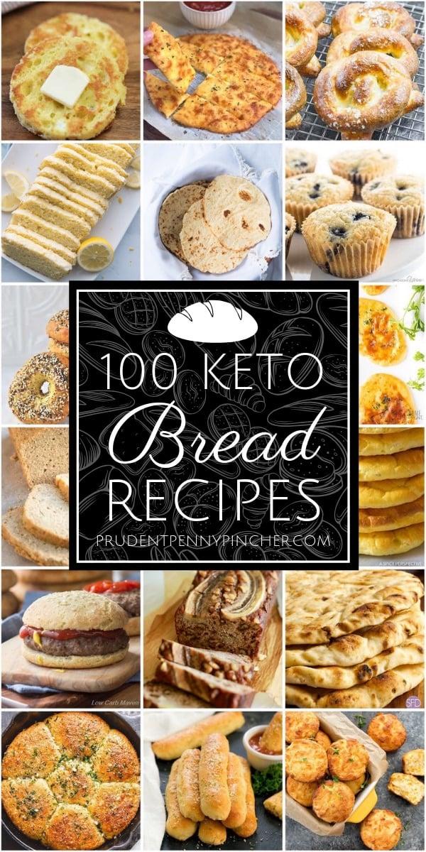 100 Best Keto Bread Recipes
