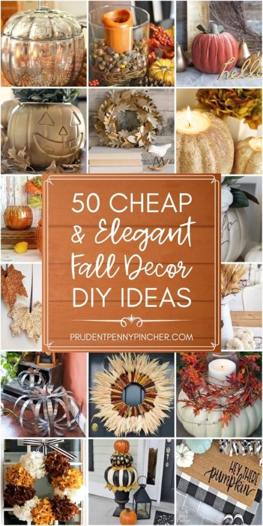 50 Cheap and Elegant Fall Decorations