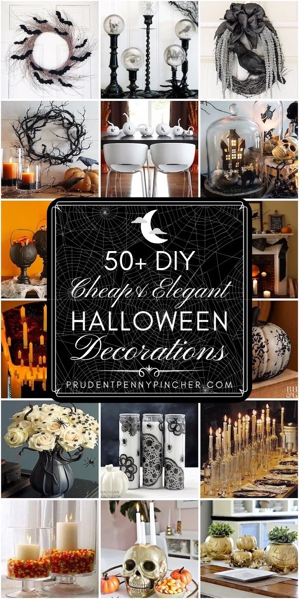50 DIY Cheap and Elegant Halloween Decorations