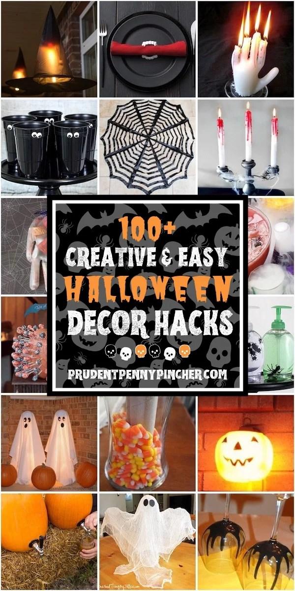 100 Creative Halloween Decor Hacks