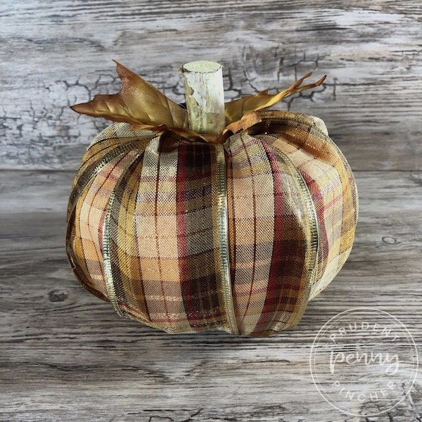 DIY Dollar Store Pumpkin