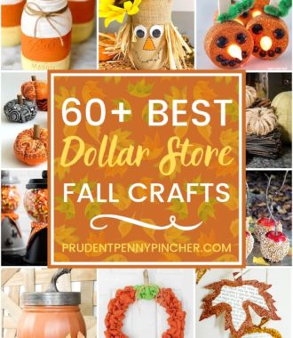 60 Dollar Store Fall Crafts
