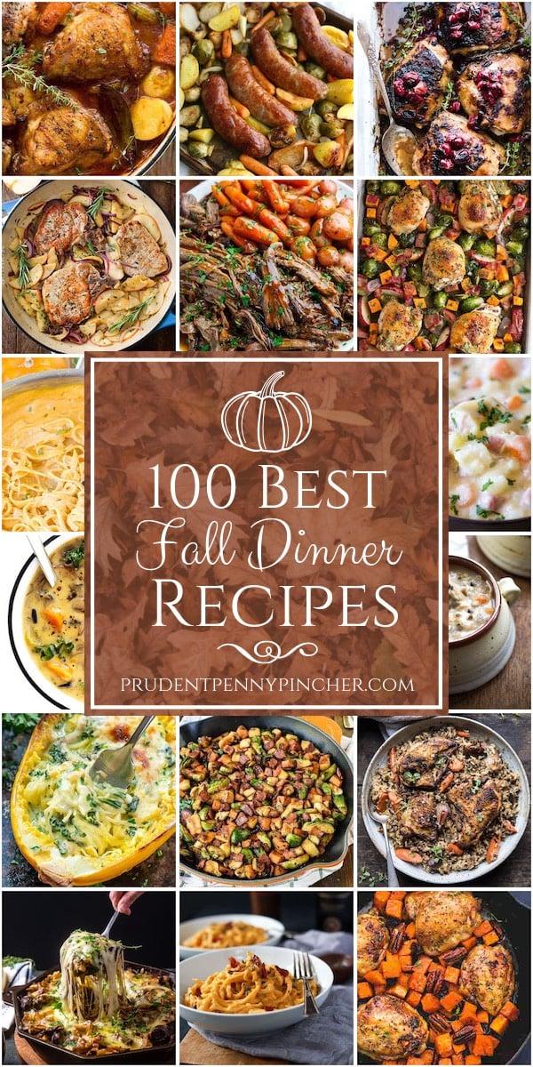 100 Best Fall Dinner Recipes