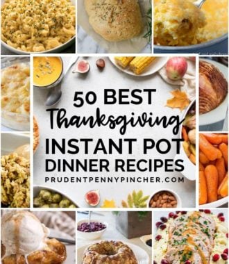 50 Best Thanksgiving Instant Pot Recipes