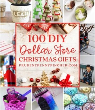 100 Dollar Store DIY Christmas Gifts