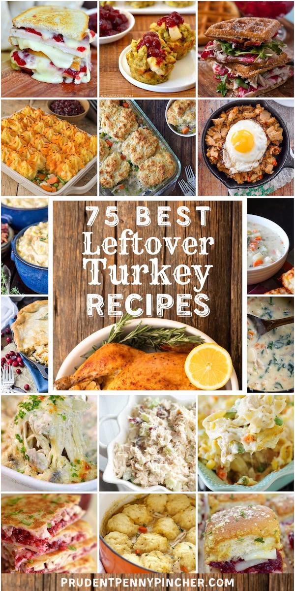 75 Leftover Turkey Thanksgiving Recipes