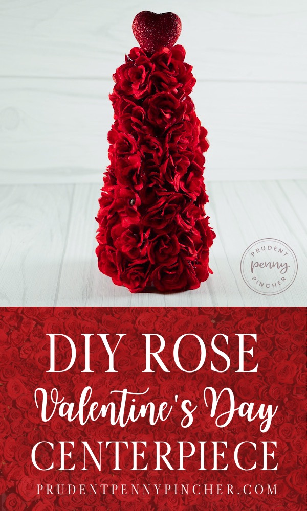 DIY Rose Valentine's Day Tree