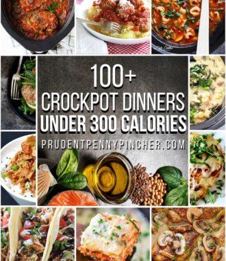 100 Healthy Crockpot Recipes Under 300 Calories