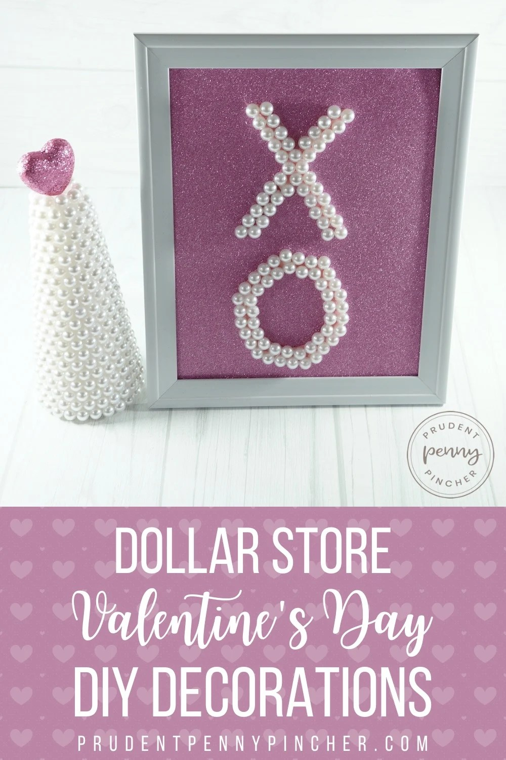 Dollar Store DIY Valentine's Day Decor