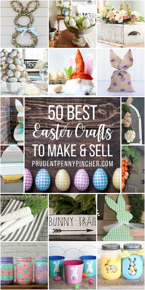50 Diy Easter Crafts To Sell Prudent Penny Pincher