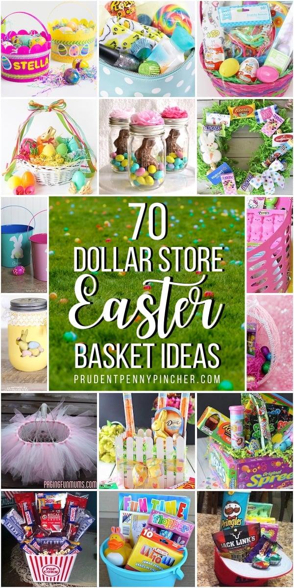 70 Dollar Store Easter Baskets