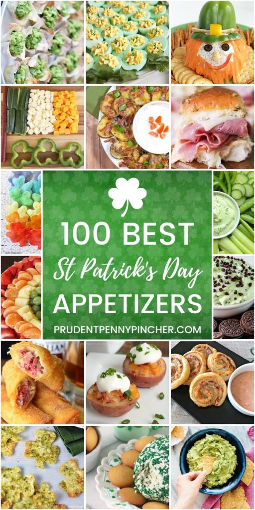 100 Best St Patrick's Day Appetizers