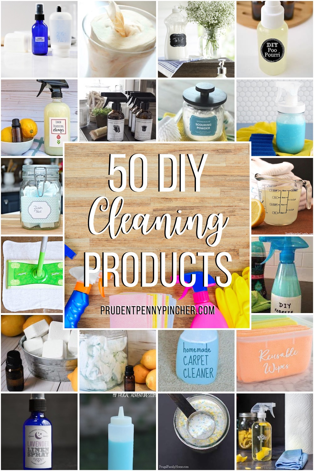50 DIY Cleaning Products