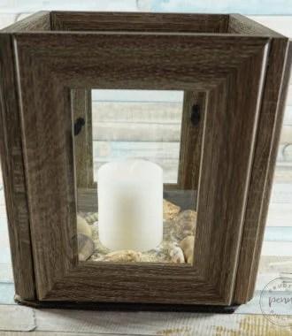Dollar Store DIY Coastal Lantern