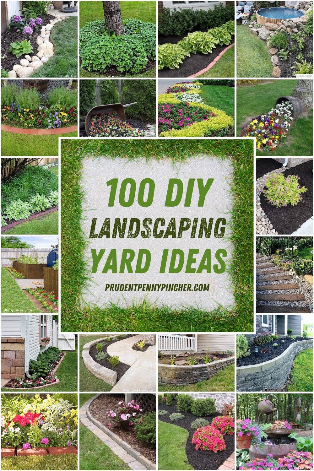 28 Best DIY Landscaping Ideas - Prudent Penny Pincher