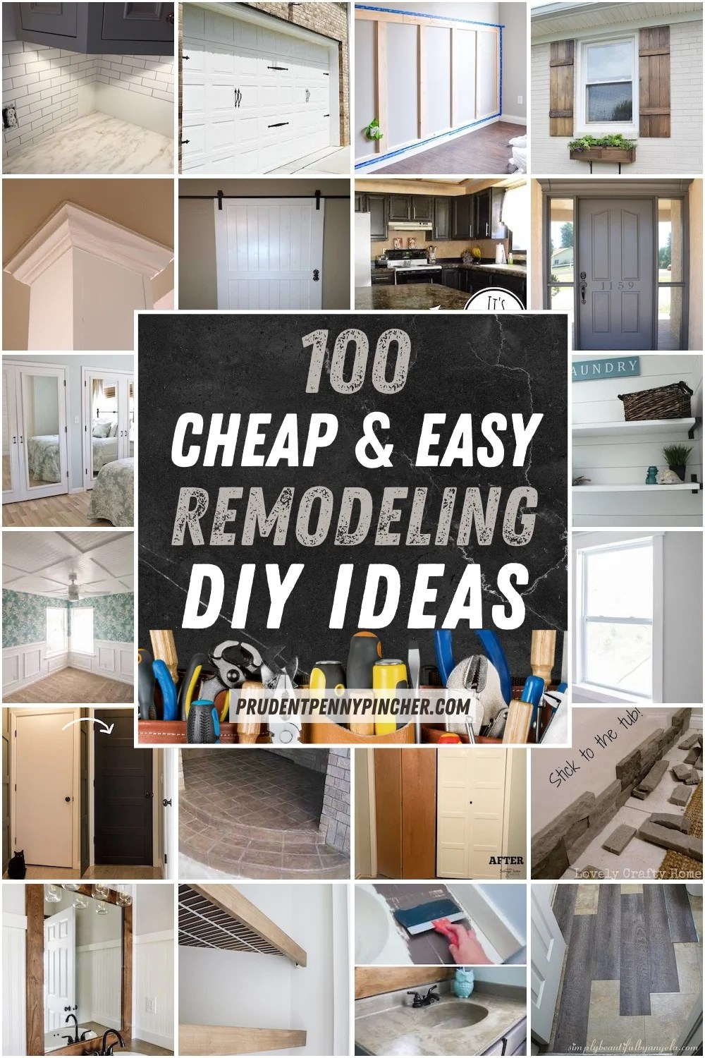 100 Diy Remodeling Ideas On A Budget Prudent Penny Pincher,Small Apartment Bedroom Layout