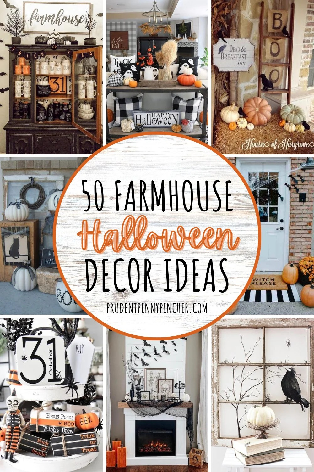 50 Farmhouse Halloween Decorations Prudent Penny Pincher