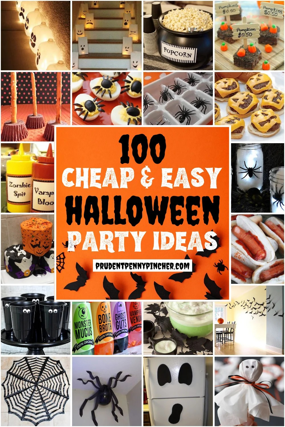 100 Bud Friendly Halloween Party Ideas Prudent Penny