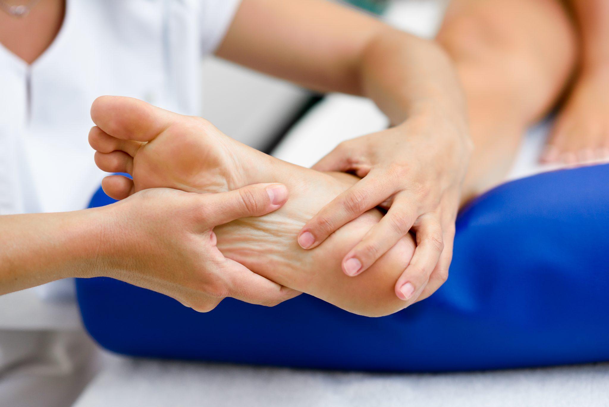 fisioterapia y pie
