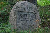 Brzeźnica/Birkenfeld (d. Kreis Gerdauen) 2013. Eberhard Horn 1899-1935.