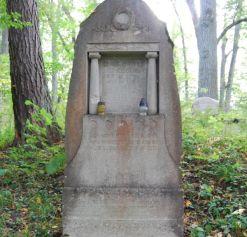 Brzeźnica/Birkenfeld (d. Kreis Gerdauen) 2013. Max Berthold (Koenigsberg) 1850-1914, Anna Berthold geb. Totenhoefer, 1843-1937.