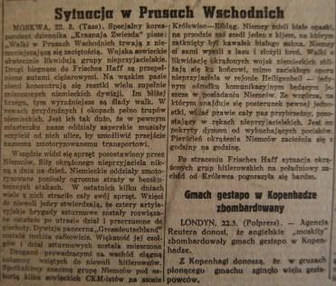 Rzeczpospolita nr 78 (piątek), 23.03.1945.