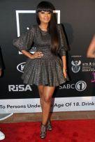 Lerato Kganyago on the red carpet at the SAMA awards in Sun City. Picture Credit: Bafana Mahlangu