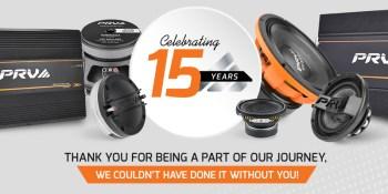 Celebrating 15 years of PRV Audio Brazil!