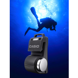 Casio Develops Pocket-Sized Transceiver for Scuba Diving Use  -  Speech Underwater