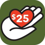 Support PRWC Donate Today 25 Dollars