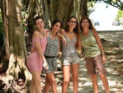 Laura, Claudia, Laura, & Dr. Robin visit Boca Grande