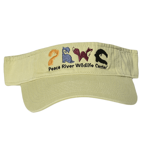 Sun Visor with Embroidered Logo Lime Green