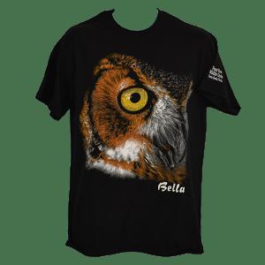Bella Portrait T-Shirt Black