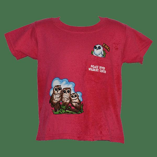 Kids-Pocket-T-Shirt-Luna-Pink