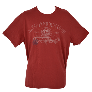 Peached Cotton T-Shirt Red