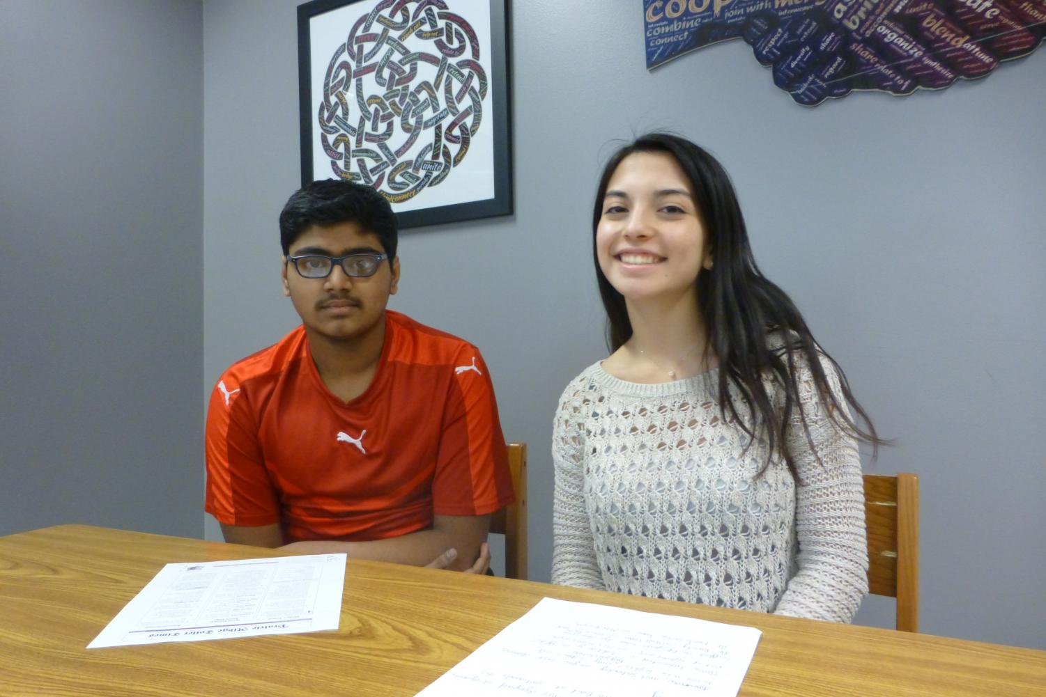 Juniors Adnan Noorullah and Halie  Collins bring you this week's broadcast of The Howl.