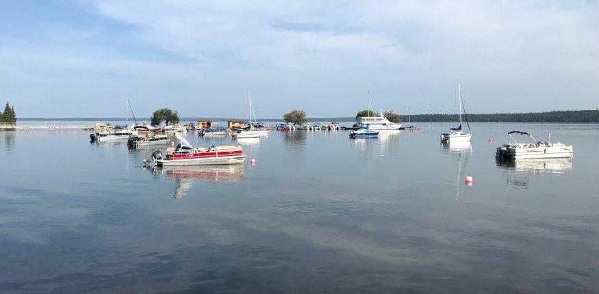 Озера в Манитобе с прозрачной водой
