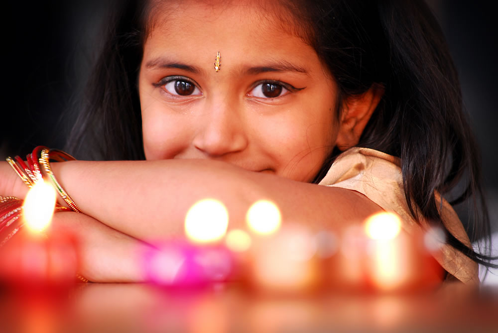 diwali-young-girl
