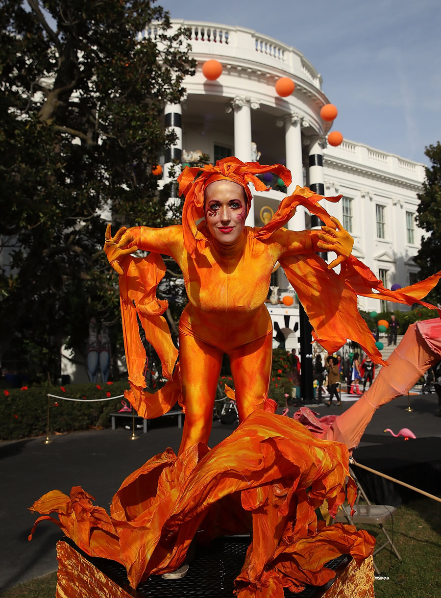 White House Halloween Trick or Treat