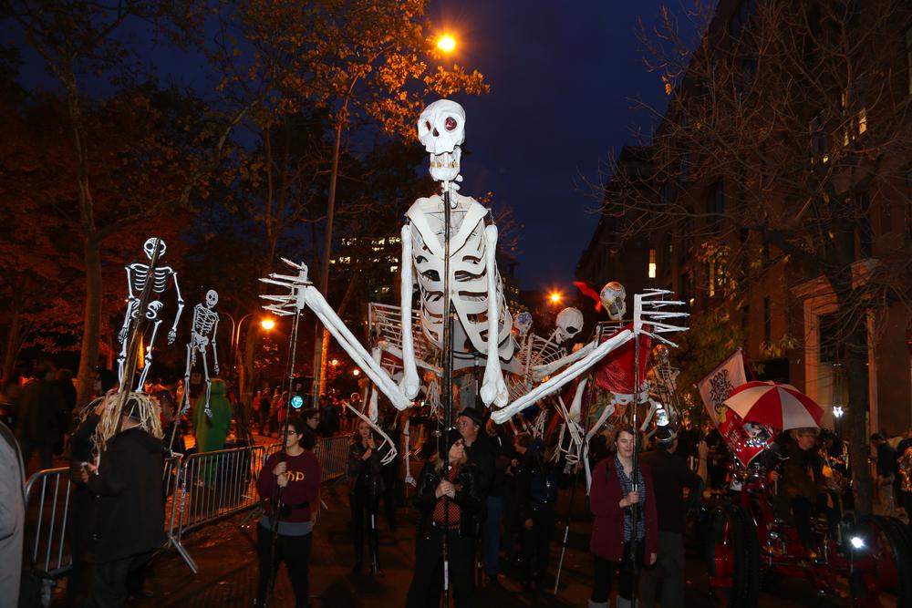 Halloween History - annual Village Halloween Parade