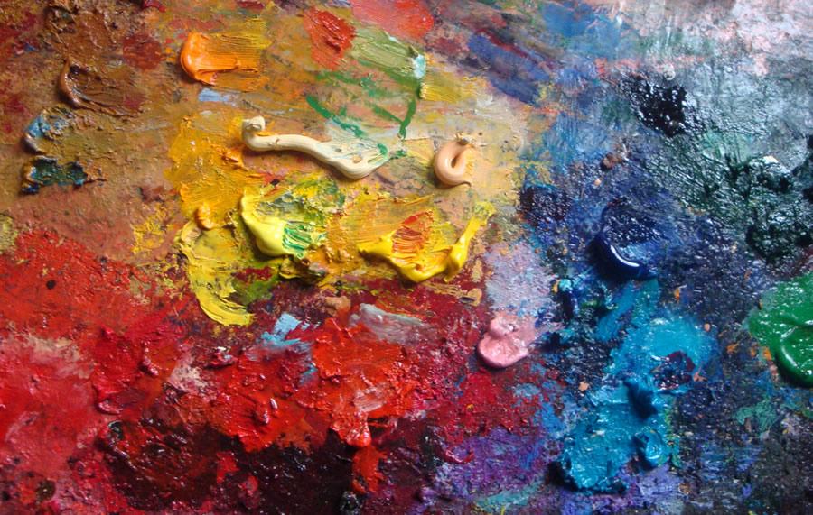 Organized Closet - paint-palette