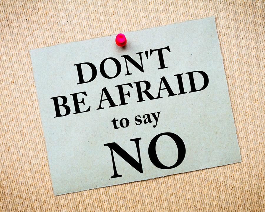 Too Nice - say-no