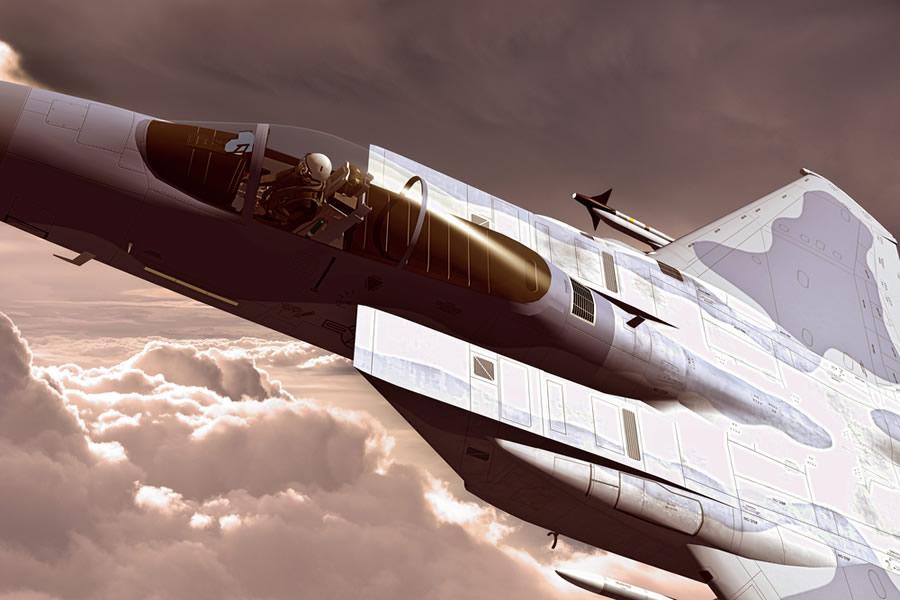 Grit - us-jet-fighter