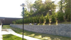 University of Maryland Living Fence Installation Project