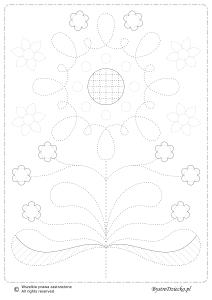 grafomotoryka-folklor-kwiat-01